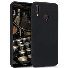 Husa ultra-subtire din fibra de carbon pentru Huawei P20, Negru - Ultra-thin carbon fiber case for Huawei P20, Black