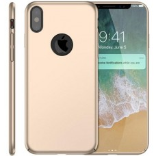 Husa ultra-subtire din fibra de carbon pentru iPhone XS, Gold auriu - Ultra-thin carbon fiber case for iPhone XS, Gold