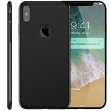 Husa ultra-subtire din fibra de carbon pentru iPhone XS MAX, Negru - Ultra-thin carbon fiber case for iPhone XS MAX, Black