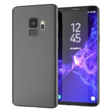 Husa ultra-subtire din fibra de carbon pentru Samsung Galaxy S9 Plus, Negru - Ultra-thin carbon fiber case for Samsung Galaxy S9 Plus, Black