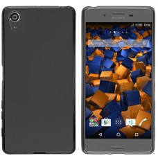 Husa ultra-subtire din fibra de carbon pentru Sony Xperia X, Negru - Ultra-thin carbon fiber case for Sony Xperia X, Black