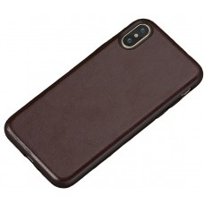 Carcasa subtire din piele lucrata manual pentru Iphone 6/6S Plus, Maro - Ultra-thin leather skin handmade case for iPhone 6/6S Plus, Brown