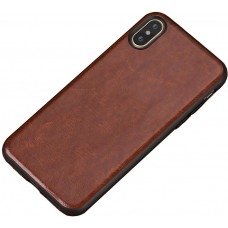 Carcasa subtire din piele lucrata manual pentru Iphone 6/6S Plus, Cafeniu - Ultra-thin leather skin handmade case for iPhone 6/6S Plus, Light-Brown
