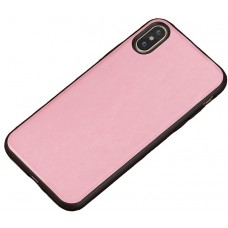 Carcasa subtire din piele lucrata manual pentru Iphone 6/6S Plus, Roz - Ultra-thin leather skin handmade case for iPhone 6/6S Plus, Pink