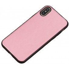 Carcasa subtire din piele lucrata manual pentru Iphone 7/8, Roz - Ultra-thin leather skin handmade case for iPhone 7/8, Pink