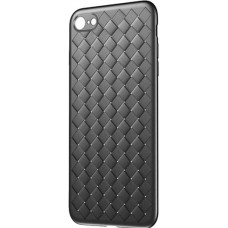 Husa Ultra-Subtire Model Weave pentru iPhone 7/8, Negru - Ultra-thin Weave model case for Iphone 7/8, Black