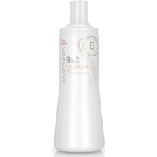 Oxidant pentru tehnicile freehand (balayage) - 9% (30 Vol) Developer - Freelights - Blondor - Wella - 1000 ml