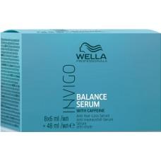 Ser impotriva caderii parului - Anti Hair-Loss Serum - Invigo Balance Serum - Wella - 8x6 ml