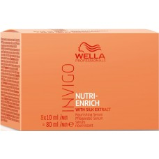 Ser intens reparator pentru par uscat si deteriorat - Serum - Invigo Nutri Enrich - Wella - 8x10 ml
