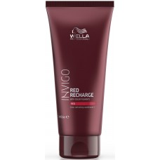 Balsam pigmentat pentru par roscat cu reflexii reci - Cool Red Conditioner - Invigo Recharge - Wella - 200 ml