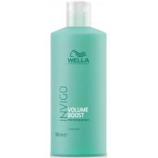 Masca-tratament pentru par fin - Crystal Mask - Invigo Volume Boost - Wella - 500 ml