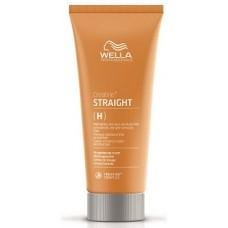 Crema permanent pentru indreptarea parului decolorat/sensibil - Straight H/S - Perm - Wella - 200 ml